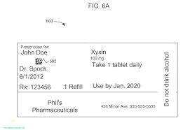 Prescription Label Template Prescription Pad Template Word New Note Ms Label Microsoft