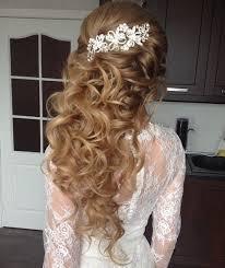 half up half down hairstyles wedding. long curly half updo up down hairstyles wedding i