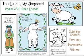 Psalm 231 Sample Lesson