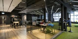 office designe. hong kong warehouse converted to creative office space designe r