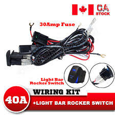 tuff led wiring harness 2way 40a 12v power switch wiring harness relay kit for led work light bar