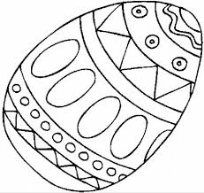 Easter Egg Coloring Page Book For Kids