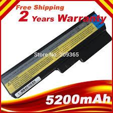 <b>5200mah 6cells Laptop</b> Battery For Lenovo G550 G430 V460 Z360 ...