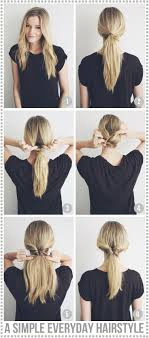 Simple Hairstyles For College A Simple N Graceful Hairstyle For College 17 Best Ideas About