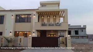 Bahria Town Karachi House Design 10 Marla Designer Model House For Sale Sector A Bahria Enclave