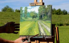 at the end of the driveway an impressionist style oil painting lesson dvd
