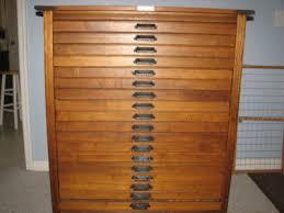 18 drawer printers cabinet hamilton mfg