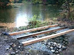 build a bridge over a creek how to build a bridge over a creek how to