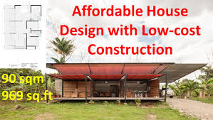Small Picture Affordable House Design with Low cost Construction YouTube