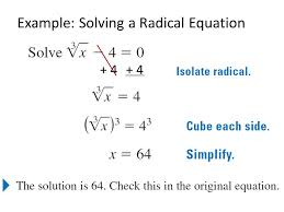 7 example solving a radical equation 4