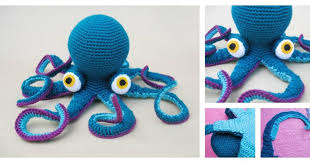 Octopus Crochet Pattern Extraordinary Giant Octopus Free Crochet Pattern UsefulDIY