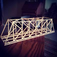 Balsa Wood Bridge Designs Straw And Rubber Band Bridge Cerca Madera Balsa