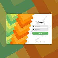 Login Form Ui Design Vector Design Ui Form Png And Vector