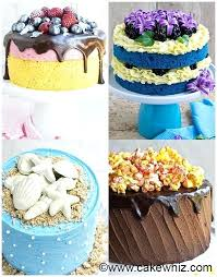 Birthday Cake Icing Cake Designing Ideas Smash Cake Birthday Cake