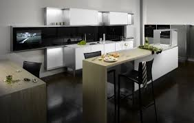 Modern White Kitchen Cabinets Decorating