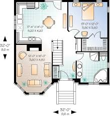 Small House Plan   Options   DR   st Floor Master Suite    Floor Plan