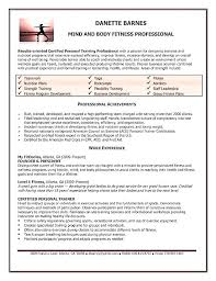 Resume For Personal Trainer Extraordinary Gym Manager Resume Resume Example Gym Manager Fa 488 48 R Manager