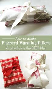 How And Why To Make The Best Flaxseed Pillows