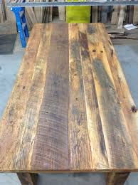 diy reclaimed wood dining table. this will be the first time i\u0027ve had a *real* dining table! would love to do reclaimed wood project! --- how build your own table- diy diy table l