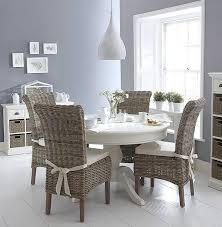 white round kitchen table. shabby chic white round dining table a wicker chairs set end of may delivery kitchen