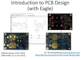 introduction to pcb design eagle