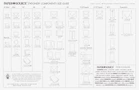 Wedding Invitation Dimensions Baronial Envelope Size Chart