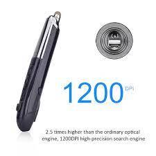 PR 08 2.4Ghz Kablosuz Optik Dokunmatik kalem Fare 800/1200/1600DPI Fare  Kalem Web Tarama ile lazer Sunum Ergonomik Fareler|Mice