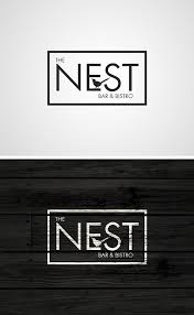 Restaurant Name And Logo The Nest Bar And Bistro Logo Graphic Logo Restaurant Logos Bar