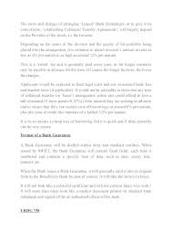 Letter Of Guarantee For Loan Co Personal Format Payment