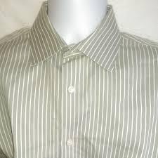 Euc Banana Men Republic Shirt 15 15 5 M Green