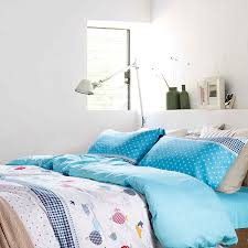 funky star themed cotton bedding set