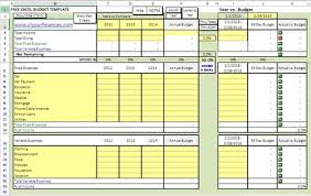personal finance excel 10 free household budget spreadsheets for 2018