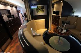 Marvelous Welcome Aboard: The Luxury First Class Section Of The New Planes Will Have  Their U0027