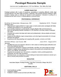 Paralegal Resume Entry Level Paralegal Resume Paralegal30