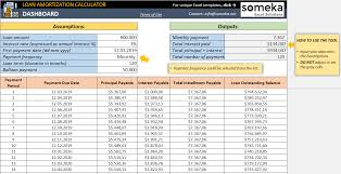 Loan Amortization Calculator Free Loan Amortization
