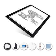 Huion A4 Light Box Huion A4 Light Pad Portable Led Light Pad Ultra Thin Dimmable Brightness Eye Protect Artists Light Box With Cleaning Cloth For Artists