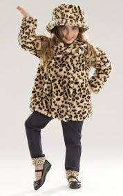 Le Top Cheetah Fur Coat - JEN\u0027S KIDS BOUTIQUE