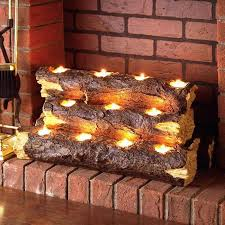 interesting decoration faux fireplace logs best fake fireplaces firepits electric