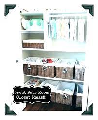 baby room organization nursery closet ideas organized love this boy