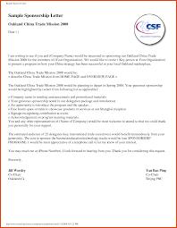 Letter Of Sponsorship Sample Sample Sponsorship Letter Moa Format 7