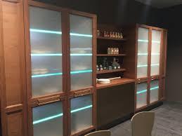 Textured Glass Kitchen Cabinets Door Stainless Steel Countertop ...