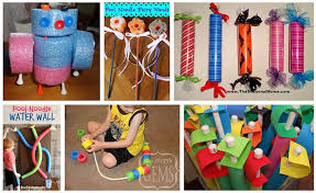 what to make with pool noodles