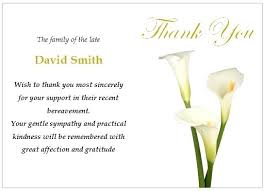 Thank You Sympathy Cards New Images Of Words For Funeral Cards With Flowers Thank You