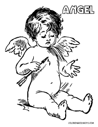 Small Picture Awesome Coloring Pages Angels Print Gallery Coloring Page Design