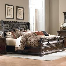 Liberty Furniture Arbor Place King Sleigh Bed   Item Number: 575 BR22F+H