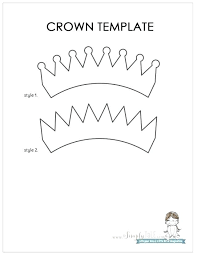 tiara princess crown template paper cut out wooden party hats crowns tiaras free printable cut out princess crown angle