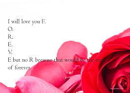 Love You Quotes For Him Stunning I Will Love You FOREVE But No R Because That Would Text