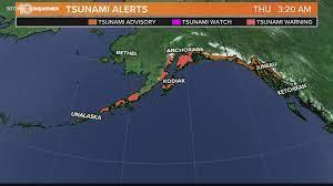 Alaska, tsunami warnings canceled ...