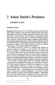 adam smith s prudence springer inside