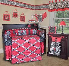 image of zebra baby bedding